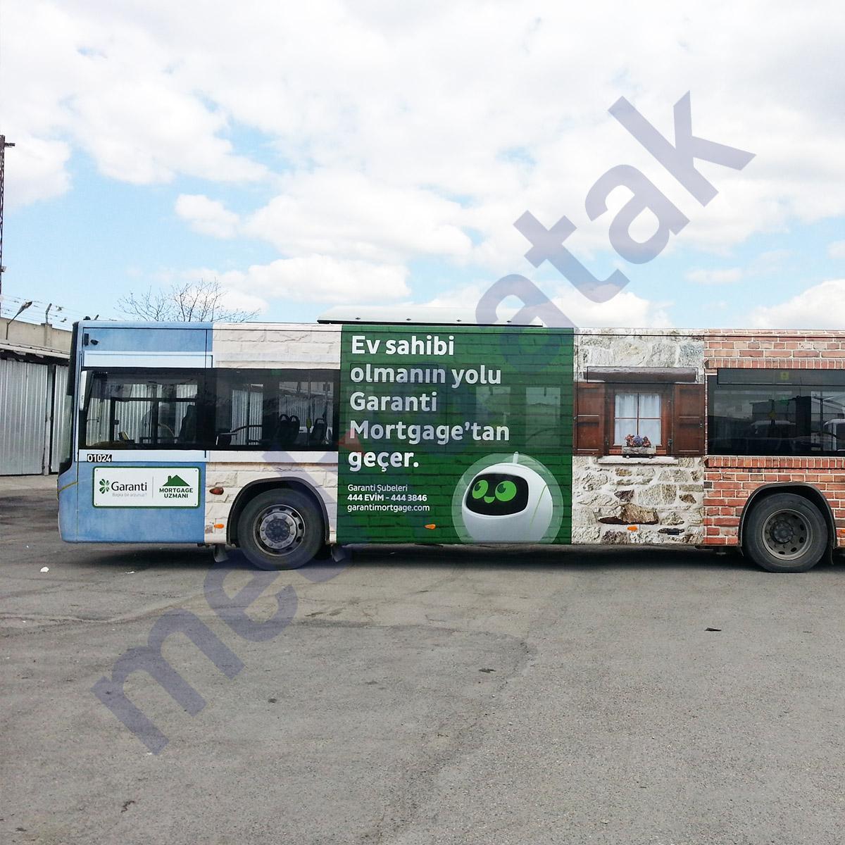 otobüs kaplama reklamı - medya atak