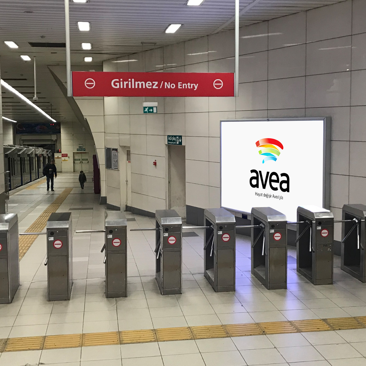 metro billboard